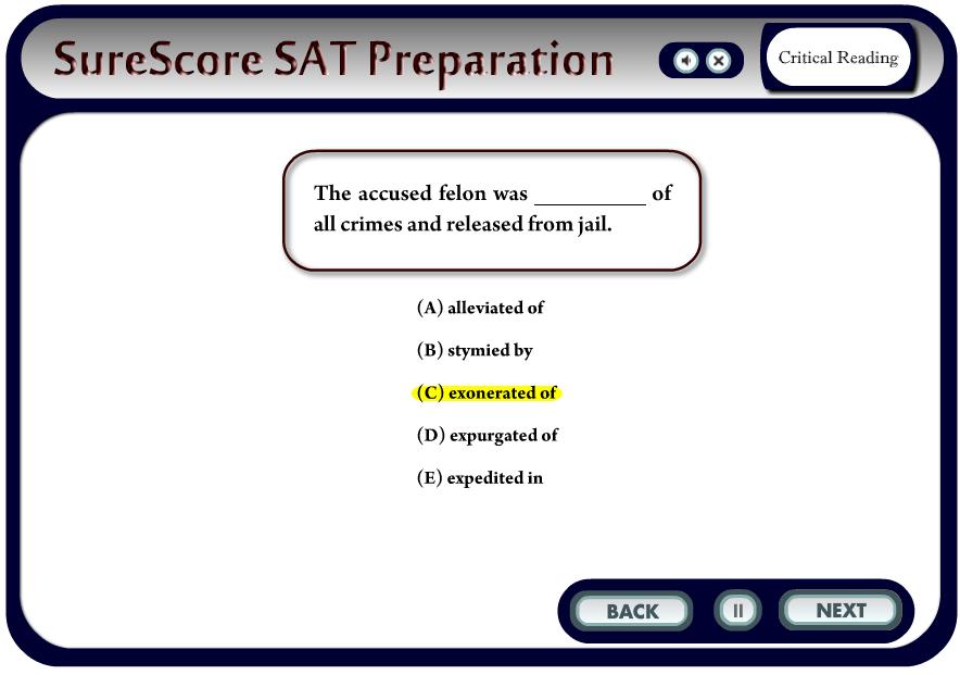 SureScore Responsive Highlighting