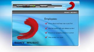 Sony Music Bulletpoints
