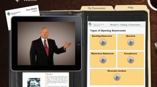 Dale Carnegie Video Player