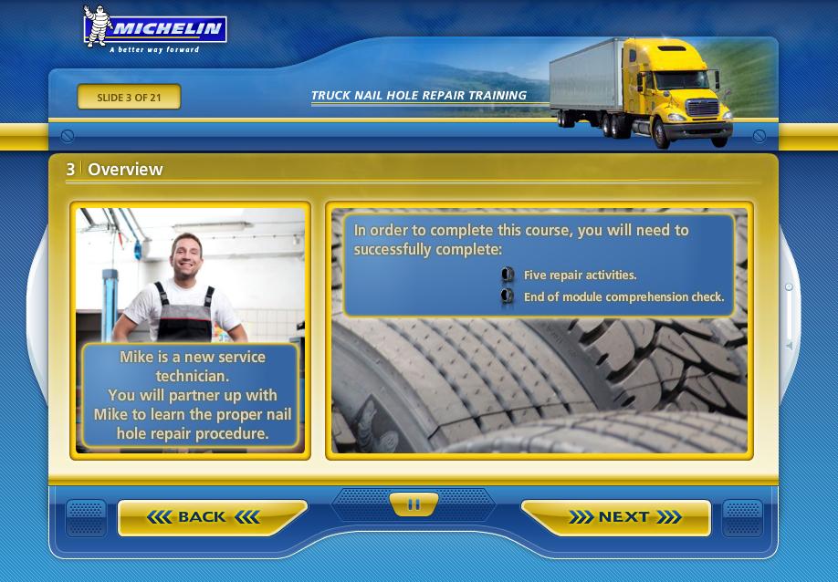 Michelin Bulletpoints