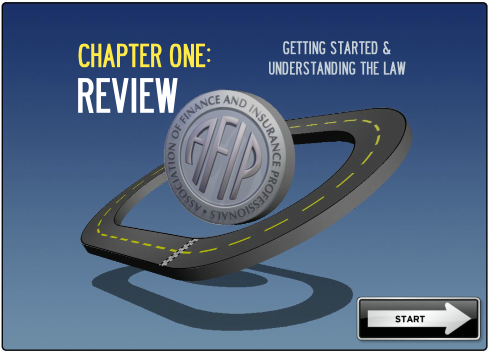 AFIP Chapter Review Template
