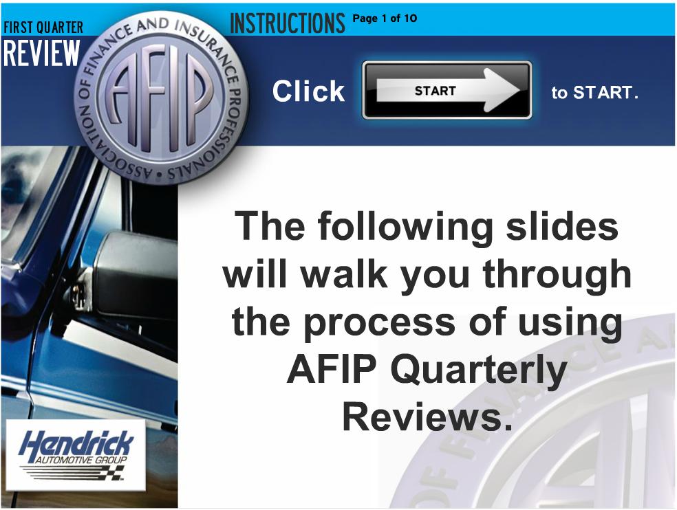 AFIP Instructions
